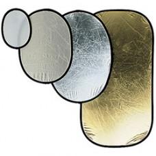 Отражатель Manfrotto GOLD/WHITE 120CM OVAL REFLEC (I4841)